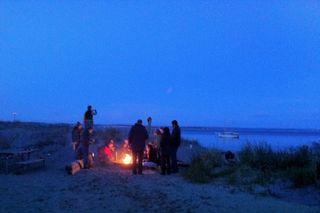 Artfest 11 bonfire